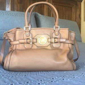 Michael Kors Light Brown Leather Handbag